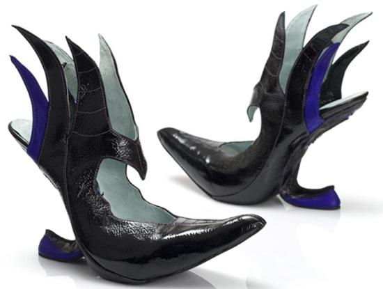 Sapatos vilãs Disney 04