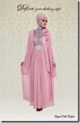 baju pesta muslimah sederhana