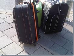 koffer gesloopt