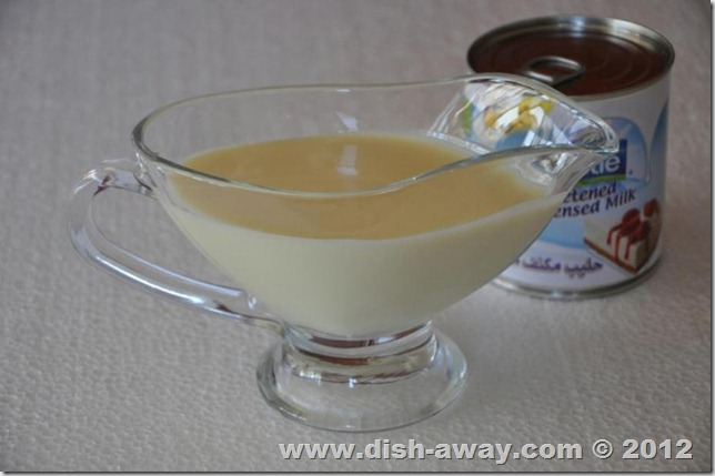 sweetened condensed milk recipe