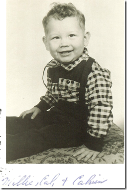 cousin Calvin R. Brown 1958
