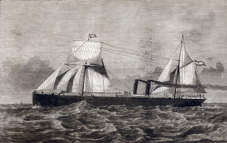 Litografia del vapor MURILLO. Del Illustrated London News.jpg