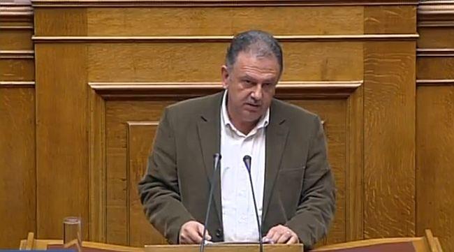 Ομιλία του Σπύρου Μοσχόπουλου στη Βουλή για την κτηνοτροφία (video)