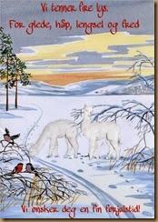 Alpakkajulekort