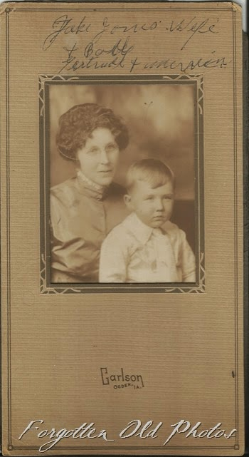 Gertrude Jones and son Craigs
