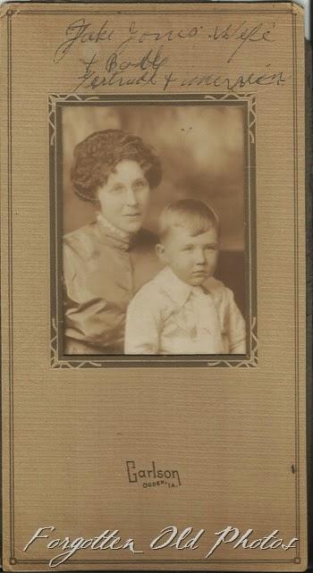 Gertrude Jones and son Craigs