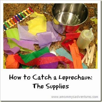 How to catch a leprechaun supplies