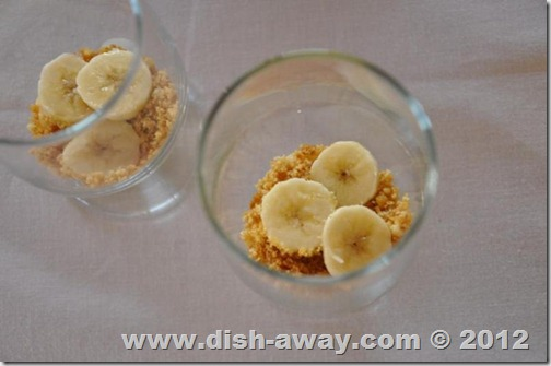 Banana and Vanilla Pudding Recipe by www.dish-away.com