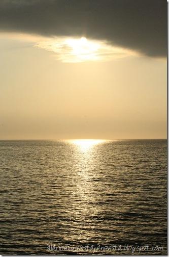Trieste Barcola tramonto