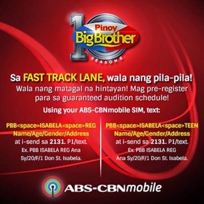 ABS-CBN Mobile PBB Fast Track Lane Service