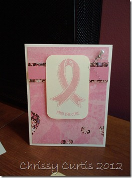 find a cure card