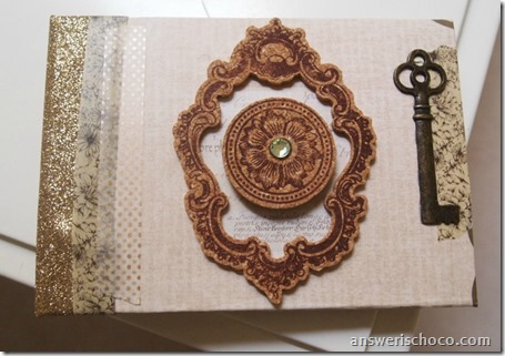 Upcycled Guest Book