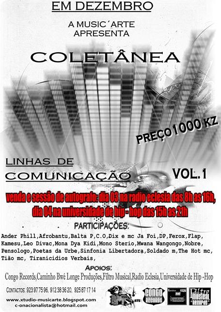 Musica e Arte Apresenta: Colectânea Linhas de Comunicação