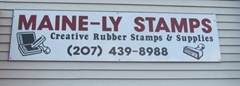 11.2011 Mainely Stamp store sign 1 Kittery