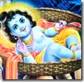 [Lord Krishna as baby]
