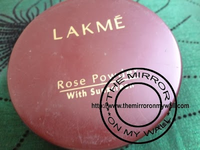Lakme Rose Powder In Warm Pink1.JPG