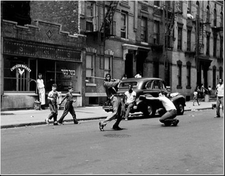 1950, Stickball NY