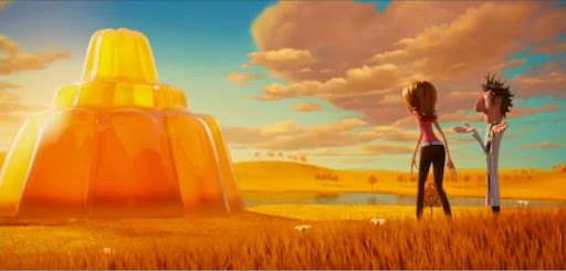 Gambar: Scene film animasi Cloudy with a Chance of Meatballs (2009)