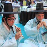 韓国の伝統的な笛「タンソ」の演奏