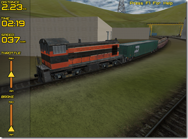 Freight Train Simulator