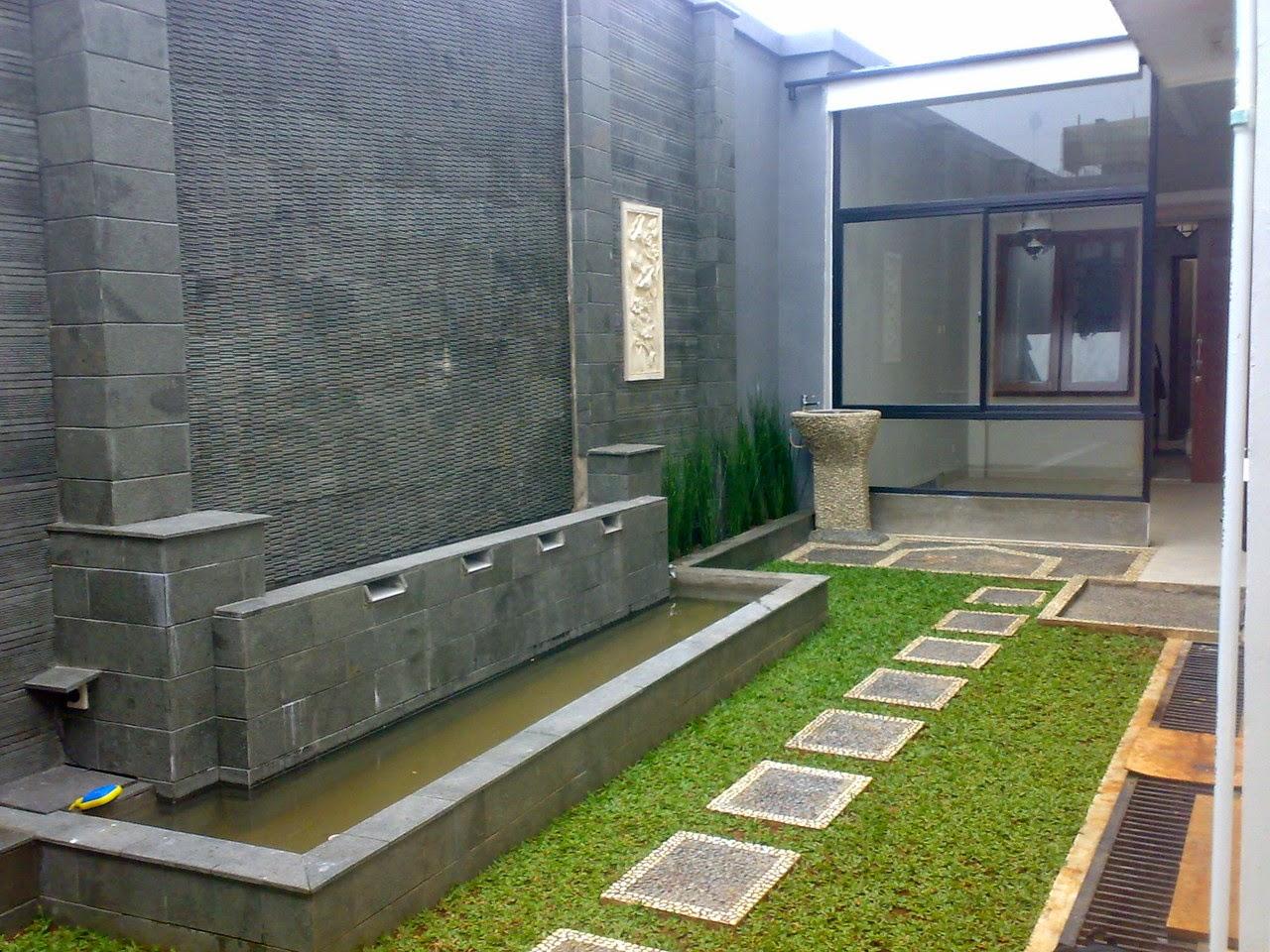 Contoh Desain Taman Minimalis Depan Rumah 2015 Tukang Taman Murah