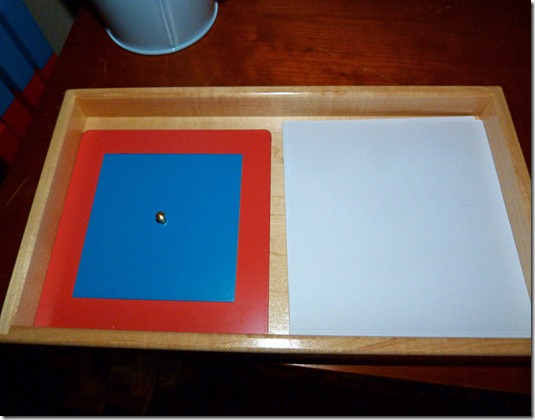 Metal Inset Tray