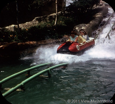 View-Master Tomorrowland (A179), Scene 3-3: Bobsled Ride