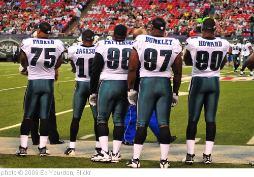 'Football: Jets v Eagles, Sep 2009 - 02' photo (c) 2009, Ed Yourdon - license: http://creativecommons.org/licenses/by-sa/2.0/