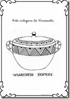sopera venezuela  colorear 1