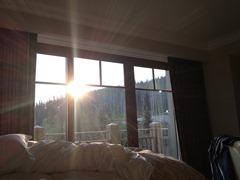 montage sunrise