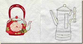 2 teapots
