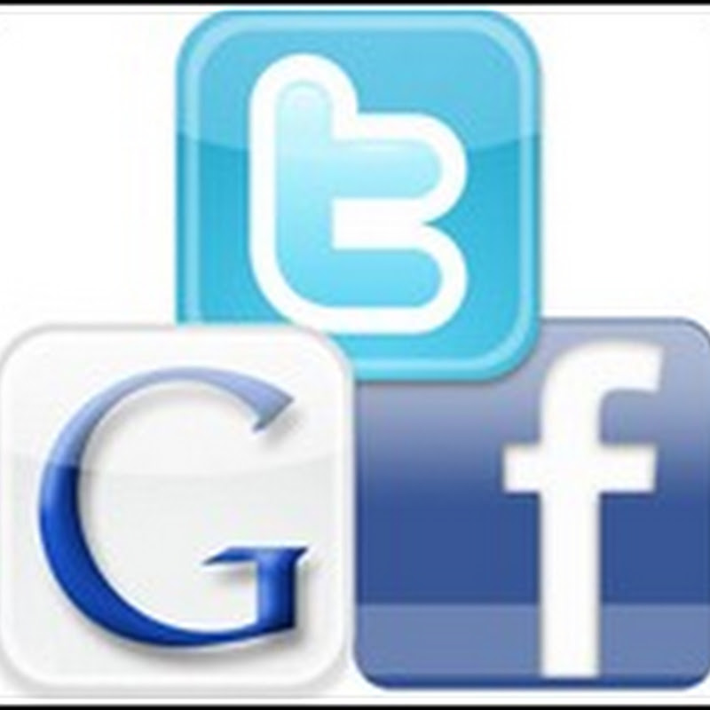 Facebook, Twitter e Google: Restropectiva 2011
