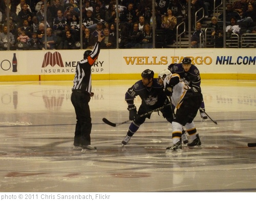 'Kings vs. Bruins 005' photo (c) 2011, Chris Sansenbach - license: http://creativecommons.org/licenses/by-nd/2.0/