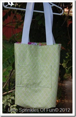 Girlie Reversible tote