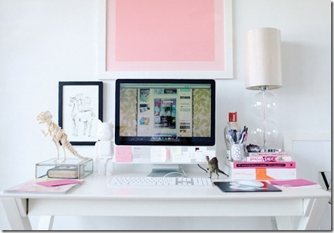 modern-chic-white-pink-home-office-desk-computer