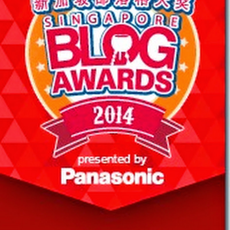 Finalist for the Singapore Blog Awards 2014