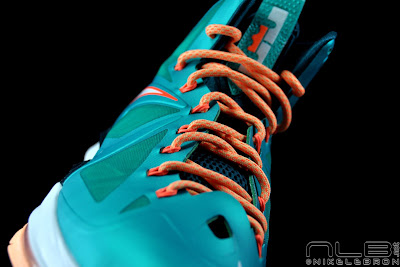 lebron10 dolphins 48 web black The Showcase: Nike LeBron X Setting / Miami Dolphins