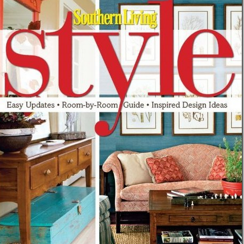 New Southern Living Book:  Style
