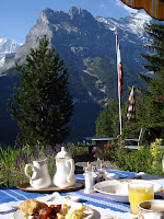 Breakfast under the Eiger