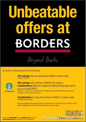 Border-Unbeatable-Offer-2011-EverydayOnSales-Warehouse-Sale-Promotion-Deal-Discount