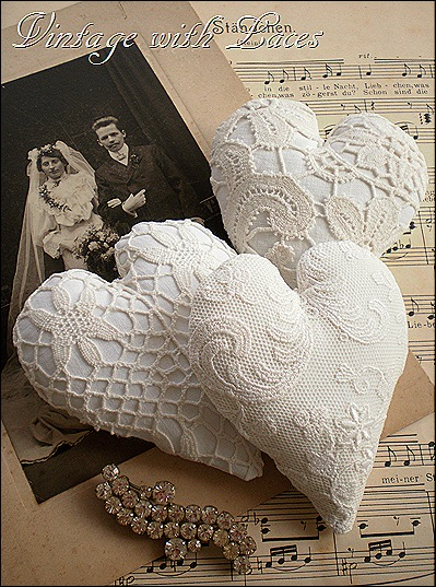 3 hearts and wedding pic