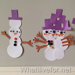 Silly Snowman Game @ whatilivefor.net