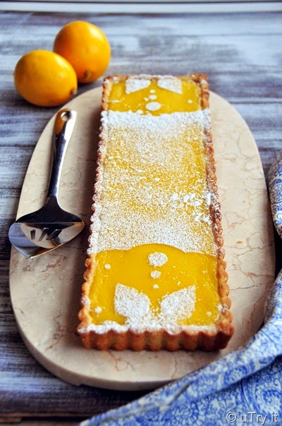 Meyer Lemon Tart with Almond Crust  http://uTry.it