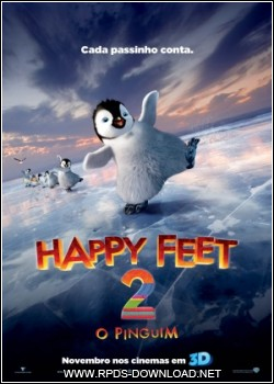 4ede074e4b435 Happy Feet 2 O Pinguim Legendado RMVB + AVI DVDScr