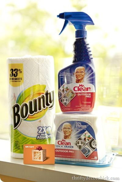 P&G Outdoor Cleaning Pack
