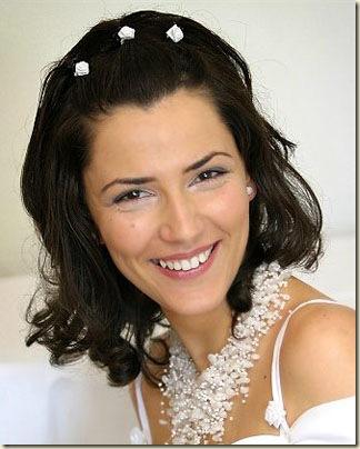 Peinados de novia pelo corto consejos de maquillaje paso - Peinados melena corta ...