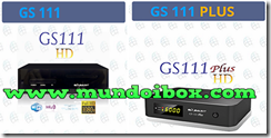 GLOBALSAT GS111 HD Y GS111 HD PLUS