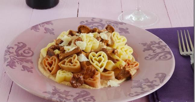 Espe saavedra en la cocina pasta con salsa de setas for Setas para decorar