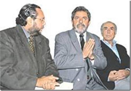 Caio Fabio e Lula