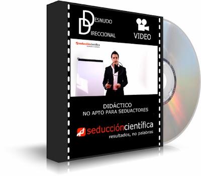 DESNUDO DIRECCIONAL, Pol Casanovas [ Video DVD ] – Taller didáctico avanzado de seducción. No apto para seduactores